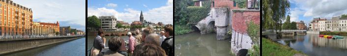 links - foto's Water in de Stad